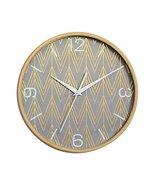 [F] 12 Inch Modern Wall Clock Decorative Silent Non-Ticking Wall Clock #01 - $59.63