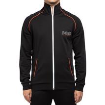 Hugo Boss Men's Sport TrackSuit Zip Up Sweatshirt Jacket & Pants Set Black image 2