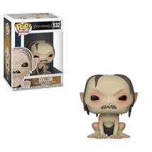 The Lord of the Rings Movie Gollum Kneeling Vinyl POP! Figure Toy #532 F... - $12.55