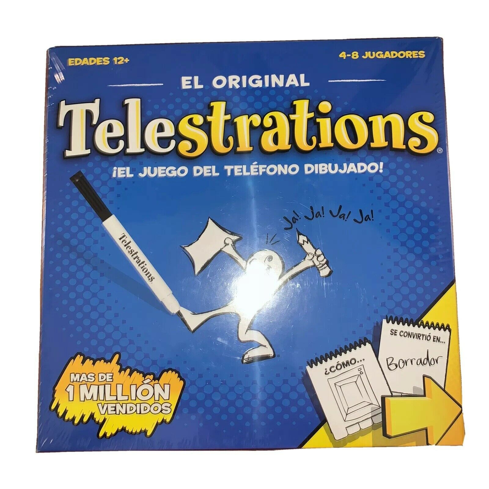 Primary image for Telestrations: 8 Player Spanish USAOPOLY Family Board Games