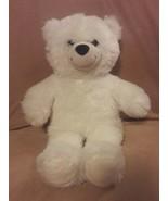 "BUILD A BEAR white TEDDY BEAR 15"" plush stuffed animal toy - $7.69"