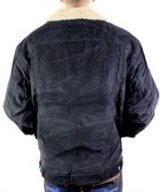 NEW LEVI'S MEN'S PREMIUM CLASSIC CORDUROY BLACK FUR JACKET 705201039 SIZE 2XL image 2
