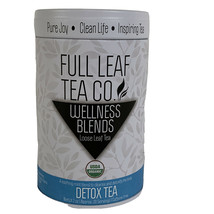 Full Leaf Tea Co Detox Tea Wellness Blends 2 oz Tin - $16.47