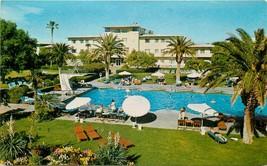 Old Chrome Postcard NV I509 The Flamingo Resort Hotel Las Vegas Swimming... - $6.50