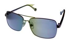 Converse Men Sunglass Gunmetal Rectangle Fashion Metal Polarized Lens H052 - $22.49