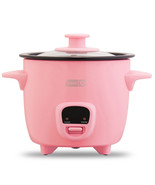 Dash Mini 2-Cup Rice Cooker Keep Warm Function Pink - $42.00