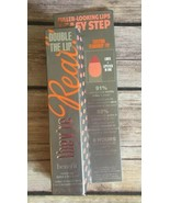 BENEFIT THEY'RE REAL DOUBLE THE LIP LIPSTICK & LINER BARE AFFAIR 0.05 OZ... - $12.16