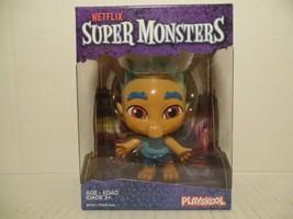 Netflix Super Monsters Spike Gong Figurine Playskool Hasbro NIB - $18.80