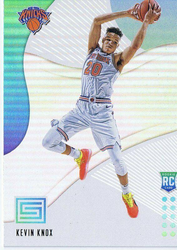 Kevin Knox 2018 Panini Status Aqua RC #134 Knicks Kentucky