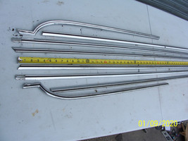 1973 MERCURY MARQUIS 4 DOOR TRIM MOLDING DOOR & FENDER UPPER 8 PC 1974 1... - $792.00