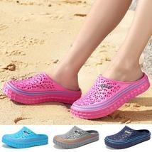 2018 Summer Women Men Beach Sandals Hollow-out Shoes Casual Breathable Slippers