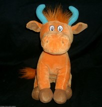 Dr Seuss Mr Marron Peut Moo Vous Vache Animal en Peluche KOHL'S Cares Pour Kids - $11.28