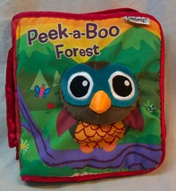 "Lamaze ""PEEK-A-BOO FOREST"" FABRIC BABY BOOK Sensory TOY - $12.38"