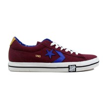 Converse Undefeated Pro Leather Vulc Oxford Burgundy 140687C Men's SZ 7.5 - $61.56