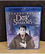 Dark Shadows Blu-ray DVD 2012  2-Disc Set combo pack - $6.99