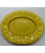 Vintage Buttercup Federalist Ironstone Underplate For Gravy Boat - $4.95