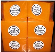 3pcs Papaya Kojic Acid Organic Herbal Soap Bars for Skin Whitening Bleac... - $19.49
