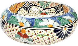 "Mexican Ceramic Bathroom Sink ""Baltimore"" - $260.00"