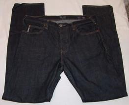 Armani Jeans Negro de Hombre 35 X 34 Bragueta de Botones J21 Estándar Reg - $926,29 MXN