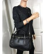 Kate Spade cobble hill small Leslie Black Soft Leather Satchel Shoulder Bag