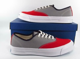 Converse Jack Purcell Signature Series CVO Ox Two-Tone RED/GRAY 151456C ... - $66.50