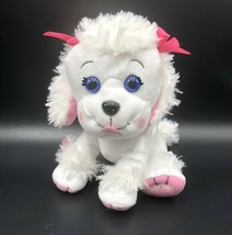 """Cabbage Patch Kids Adoptimals White Poodle Plush Puppy Dog 8"""" CPK - $12.86"""