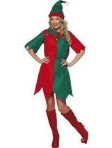 Costume Elfe, Femmes Tunique, Déguisement Noël, M 12-14, Femmes - $11.19