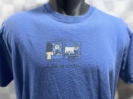 Life Is Crap On-Line Incontri T-Shirt Taglia M - $10.93