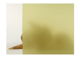"Yellow Frosted Window Film 30"" Wide x 6.5 ft. Roll - $60.38"