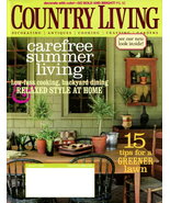 COUNTRY LIVING Magazine - August Issue 2008 - $6.00