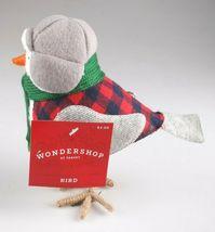 Target Christmas Bird Figure Holiday Decor 2019 Bayham Featherly Snow Bird image 4