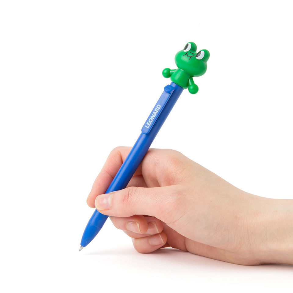 LINE FRIENDS Character Action Gel Pen Set LEONARD Official Goods