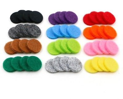 RoyAroma 17mm Replacement Felt Pads(48 Pieces) For 25mm Essential Oil Diffuser image 7