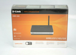 D-Link WBR-1310 Wireless G Router 54Mbps Four 10/100 Network Ports - $29.69