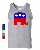 Republican Party Elephant Logo Tank Top Political Conservative Sleeveless - $10.01+