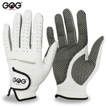 Free Shipping Genuine Leather Golf Gloves Men's Left Right Hand Soft Breathable image 1