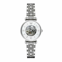 Brand New Emporio Armani Women's Automatic Stainless Steel Strap Watch A... - $247.42 CAD