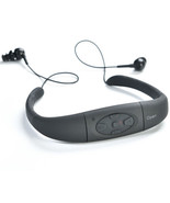 8GB 3M Waterproof Sport MP3 Player Headset FM Radio Spa Swimming Headphones - $25.99
