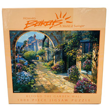 """""""Beyond The Garden Wall""""- Howard Behrens"""" - Puzzle - 1000 Pc - NEW (A) - $17.33"""