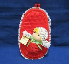 Vintage Christmas Musical Baby Doll George Good Music Box Wish You a Mer... - $20.95