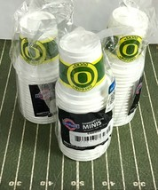 54 Oregon Ducks NCAA 3 oz Mini Disposable Plastic Cups Jello Shots Glass BX271 - $23.28