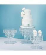 Wedding dessert acrylic display stand multi-layer cake stand - $98.99+