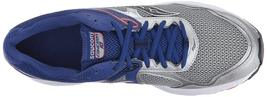 Saucony Men's Silver Blue Grid Cohesion 10 Running Runners Shoe Sneaker NIB image 5