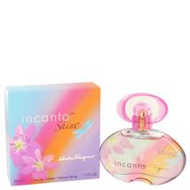 Incanto Shine by Salvatore Ferragamo Eau De Toilette Spray 1.7 oz for Wo... - $29.83