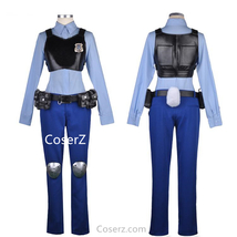 Zootopia Judy Hopps Costume Uniform Outfit - $125.00