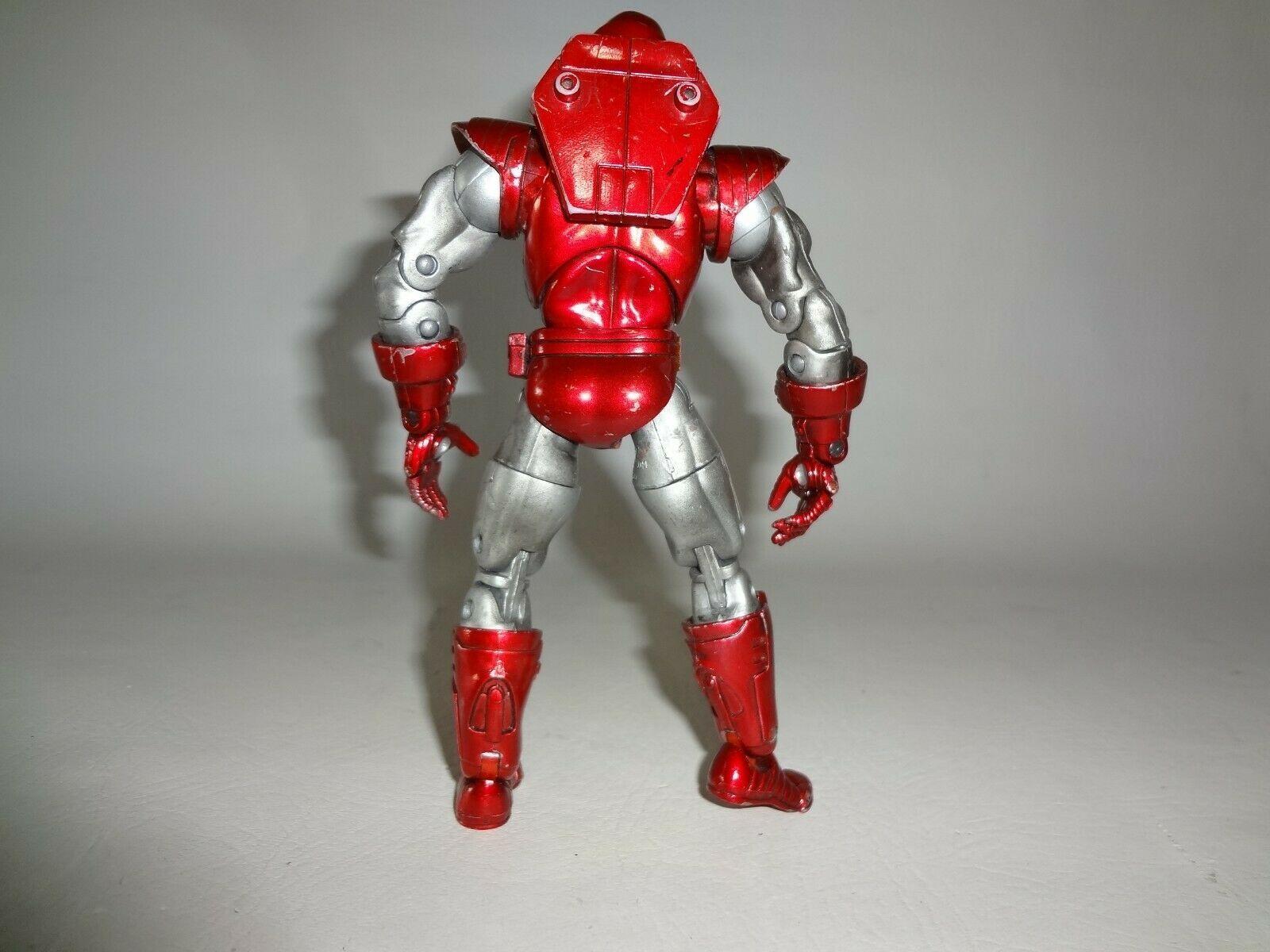 Marvel Legends SILVER CENTURION Iron Man Series VII Toybiz 2004