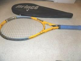 """Prince TT Scream OS Tennis Racquet 110"""" w/4 5/8"""" Grip + Case - $39.59"""