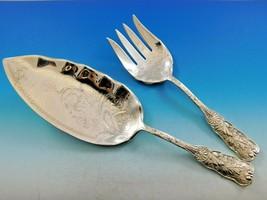 "Saint Cloud by Gorham Sterling Silver Fish Serving Set 2-piece Brite Cut 11 3/4"" - $1,358.10"