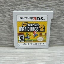 New Super Mario Bros. 2 Nintendo 3DS 2012 Video Game Cartridge Only Tested - $14.84