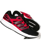 Adidas Mens Duramo 6 Trainers Sneakers Shoes - B40945 - Black / Red - $64.19